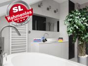 Infrarot Spiegelheizung Bad 900 Watt ESG Glas 140x60 M10-SL