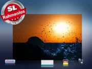 infrarot Bildheizung 500 Watt 90x60 M10-SL Brandung