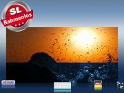 Infrarot Bildheizung 700 Watt 120x60 M10-SL Brandung