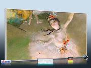 Infrarot Bildheizung Kunst 700 Watt 120x60 M10-SL Primaballerina