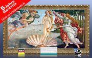 Infrarot Bildheizung Kunst 700 Watt 120x60 StG Geburt der Venus