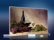 infrarot Bildheizung 500 Watt 90x60 M10-SL Wein-Trauben