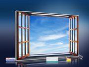 infrarot Bildheizung 500 Watt 90x60 M10-SL Fenster II