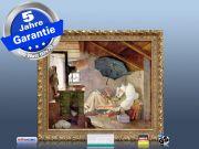 Infrarot Bildheizung Kunst 400 Watt 70x60 Stilrahmen StG Der arme Poet