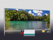 Infrarot Bildheizung 900 Watt 140x60 M10-SL Bergsee