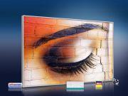 Infrarot Bildheizung 500 Watt 90x60 M10-SL Auge