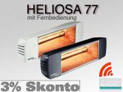 Infrarot Heizstrahler Heliosa HiDesign 77 IP20 2,0KW mit Fernbedienung