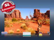 Infrarot Bildheizung 600 Watt 110x60 M10-SL Ayers Rock