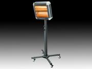 High Power Robot Teleskope Infrarot Wärmestrahler 2x 1500 Watt