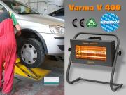 Infrarotstrahler Helios Varma Fire 1500 Watt IPX5 Werkstattheizung