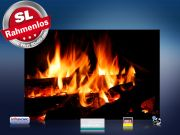 infrarot Bildheizung 500 Watt 90x60 M10-SL Kaminfeuer