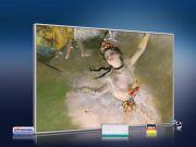 Infrarot Bildheizung Kunst 500 Watt 90x60 M10-SL Primaballerina