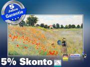 Infrarot Bildheizung Kunst 600 Watt 110x60 M10-SL Klatschmohn