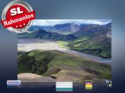 infrarot Bildheizung 500 Watt 90x60 M10-SL Island