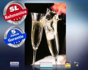 infrarot Bildheizung 500 Watt 90x60 M10-SL Champagner