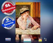 infrarot Bildheizung Kunst 500 Watt 90x60 M10-SL Pflaume (Manet)