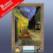infrarot Bildheizung Kunst 500 Watt 90x60 Stilrahmen StG Café de nuit