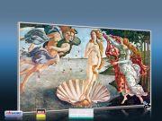 Infrarot Bildheizung Kunst 600 Watt 110x60 M10-SL Geburt der Venus
