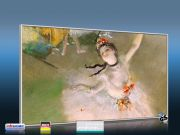 Infrarot Bildheizung Kunst 600 Watt 110x60 M10-SL Primaballerina