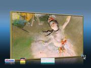 Infrarot Bildheizung Kunst 600 Watt 110x60 M10M Primaballerina