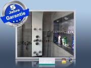 Infrarotheizung Glas schwarz Spiegelheizung Bad 400 Watt 70x60 M23