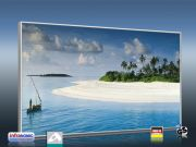 Infrarot Bildheizung 600 Watt 110x60 M10-SL Malediven