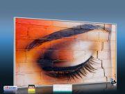 Infrarot Bildheizung 600 Watt 110x60 M10-SL Auge