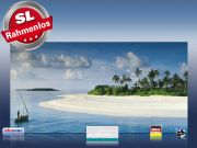 Infrarot Bildheizung 700 Watt 120x60 M10-SL Malediven