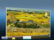 Infrarot Bildheizung Kunst 600 Watt 110x60 M10-SL Ebene La Grau