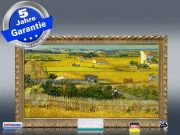 Infrarot Bildheizung Kunst 600 Watt 110x60 StG Ebene La Grau