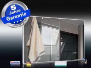 Infrarot Spiegelheizung Bad 500 Watt 90x60 Rahmen weiß M10W