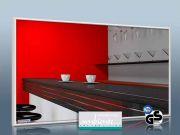 Infrarot Spiegelheizung 700 Watt 120x60 M10W