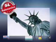 infrarot Bildheizung 500 Watt 90x60 M10-SL Freiheitsstatue