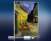 Infrarot Bildheizung Kunst 500 Watt 90x60 M10-SL Café de nuit