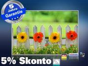Infrarot Bildheizung 500 Watt 90x60 M10-SL Blumenzaun