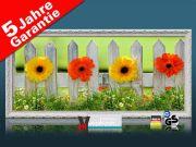 Infrarot Bildheizung 900 Watt 140x60 Stilrahmen StAw Blumenzaun