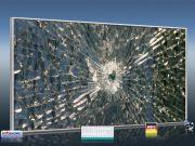 Infrarot Bildheizung 700 Watt 120x60 M10-SL Glas mit Loch