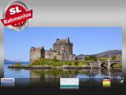 Infrarot Bildheizung 900 Watt 140x60 M10-SL Eilean Donan Castle