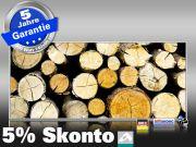 Infrarot Bildheizung 900 Watt 140x60 M10-SL Holzstapel