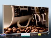 Infrarotheizung als Bild Bildheizung 700 Watt 120x60 M10-SL cafe 02
