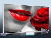 Infrarot Bildheizung 700 Watt 120x60 M10-SL red lips