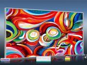 Infrarot Bildheizung 700 Watt 120x60 M10-SL fondale fantasia