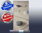 Infrarot Bildheizung 700 Watt 120x60 M10-SL Steine im Sand