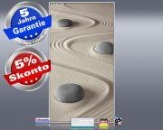 Infrarot Bildheizung 600 Watt 110x60 M10-SL Steine im Sand