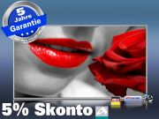 Infrarot Bildheizung 600 Watt 110x60 M10-SL red lips
