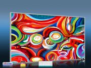 Infrarot Bildheizung Kunst 600 Watt 110x60 M10-SL fondale fantasia