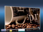 Infrarot Bildheizung 600 Watt 110x60 M10-SL Cafe 2
