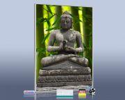 Infrarot Bildheizung 500 Watt 90x60 M10-SL Buddha