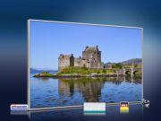 infrarot Bildheizung 500 Watt 90x60 M10-SL Eilean Donan Castle