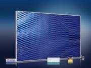 Infrarot Bildheizung 500 Watt 90x60 M10-SL Löcher blau
